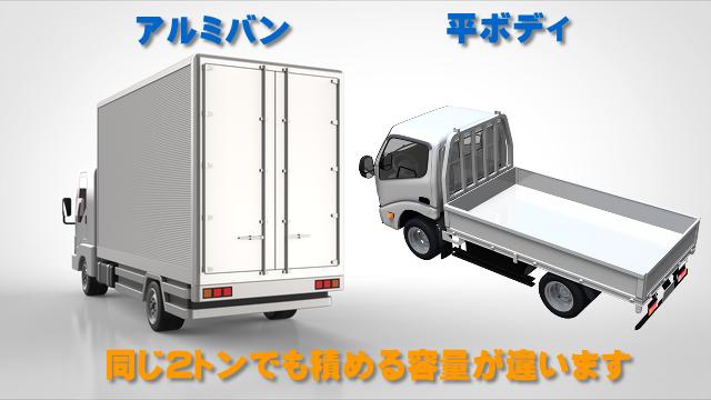 2トントラック比較