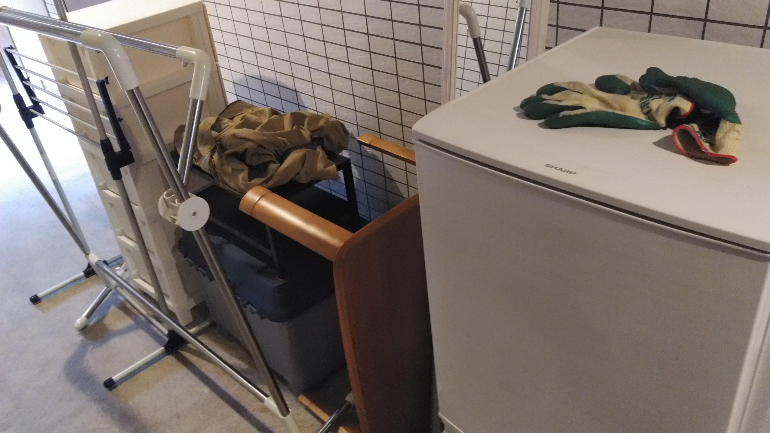 冷蔵庫やその他の生活用品